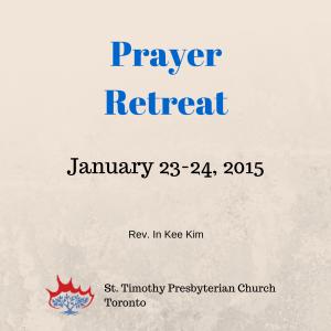 Prayer Retreat Seminar