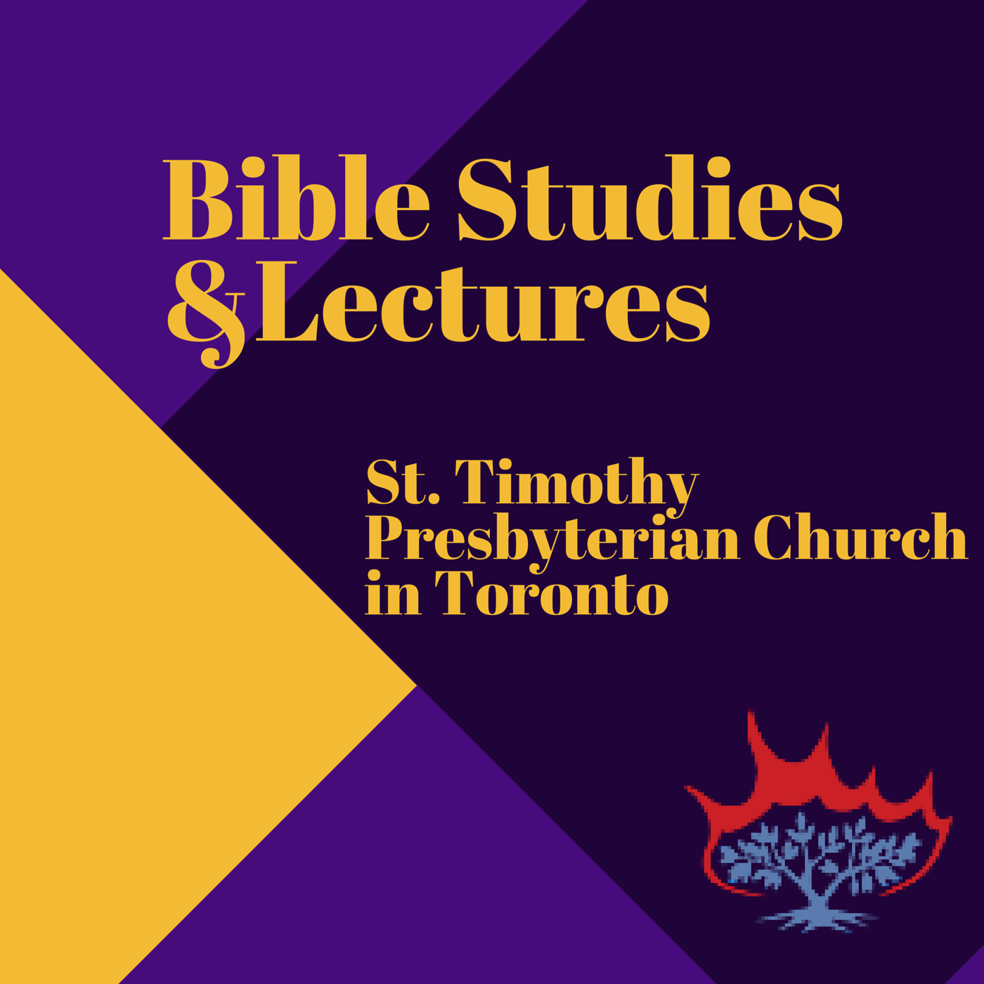 St Timothy Presbyterian Church in Toronto: Bible Studies and Lectures