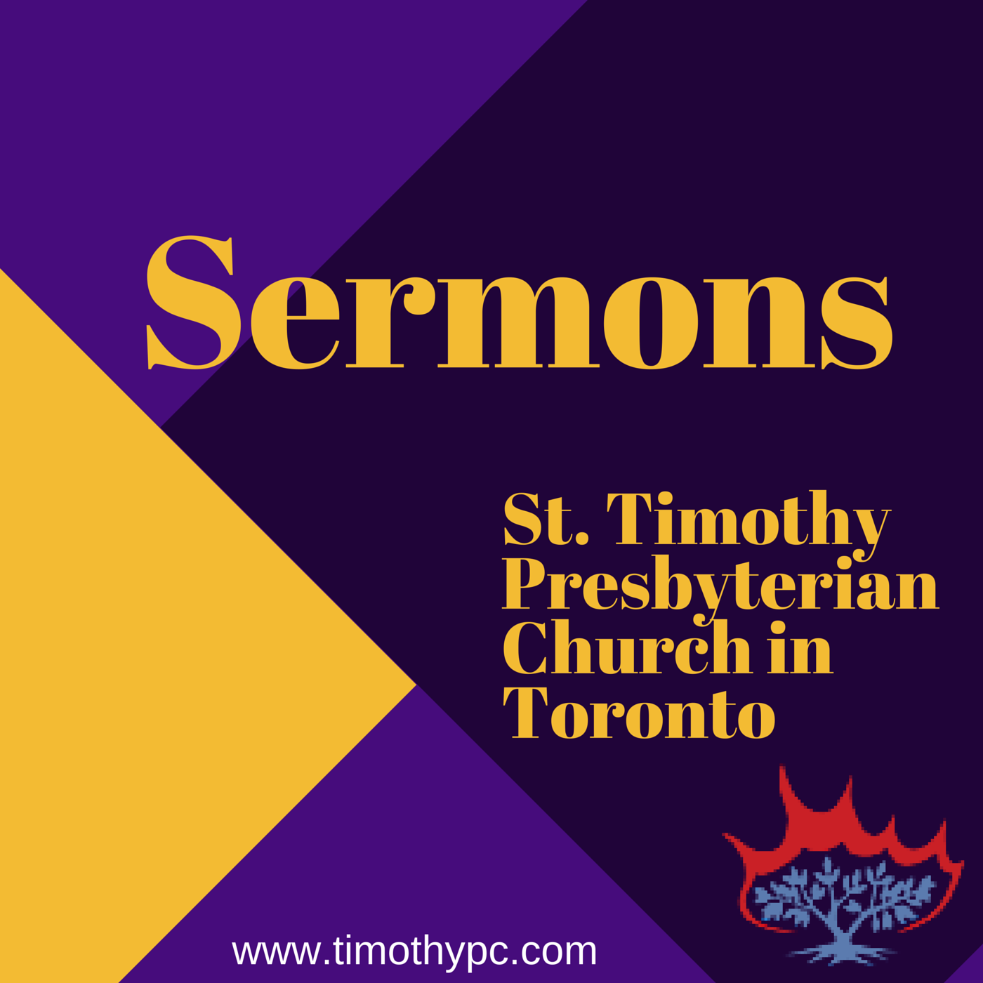St Timothy Presbyterian Church in Toronto: Sermons