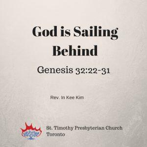 God is Sailing Behind