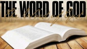 Building Relationship with God – Word of God