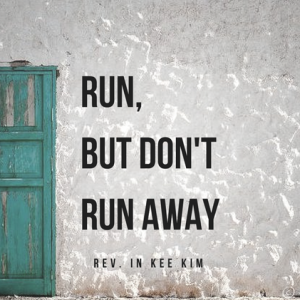 Run, But Don't Run Away