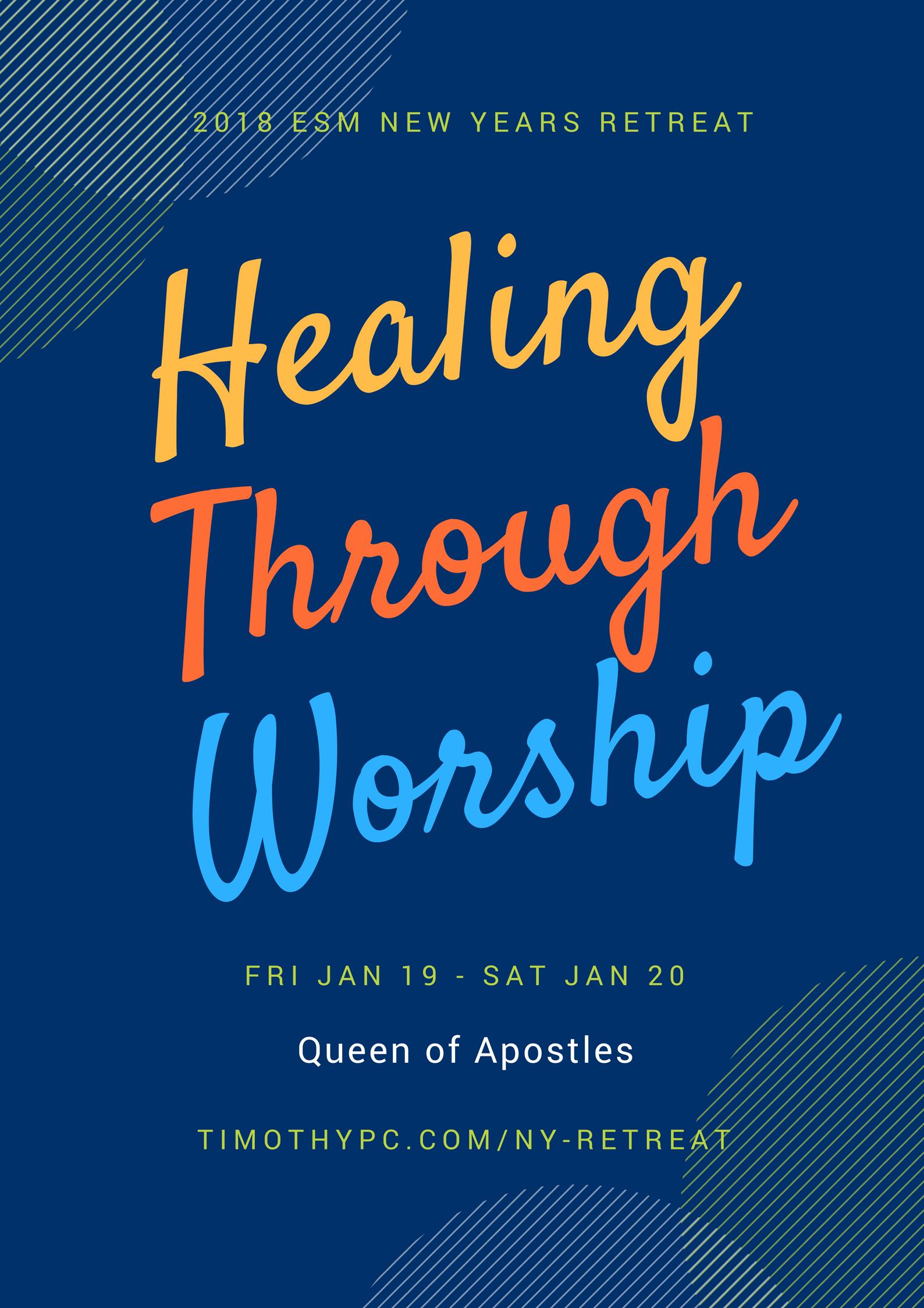 St. Timothy New Year Retreat 2018