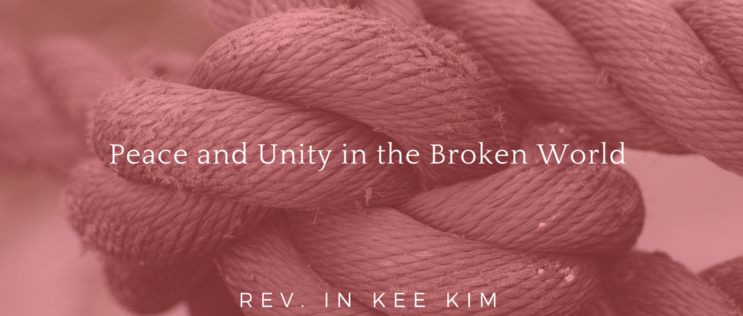 Peace and Unity in the Broken World