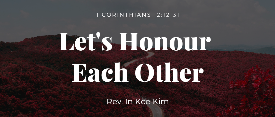 Let's Honour Each Other