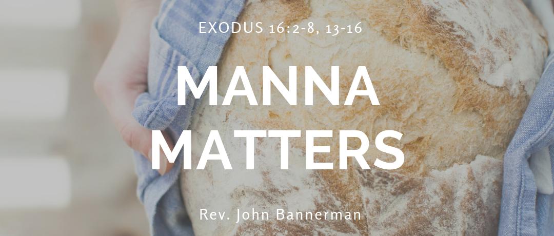 Manna Matters