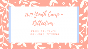 Youth Camp Reflections