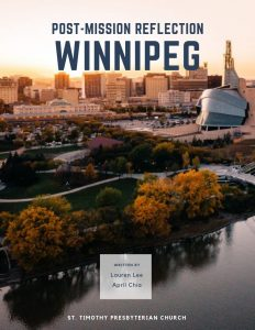 Winnipeg Reflections e-Book