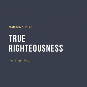 True Righteousness