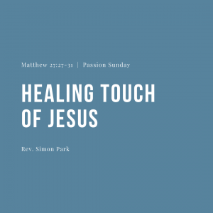 Healing Touch of Jesus