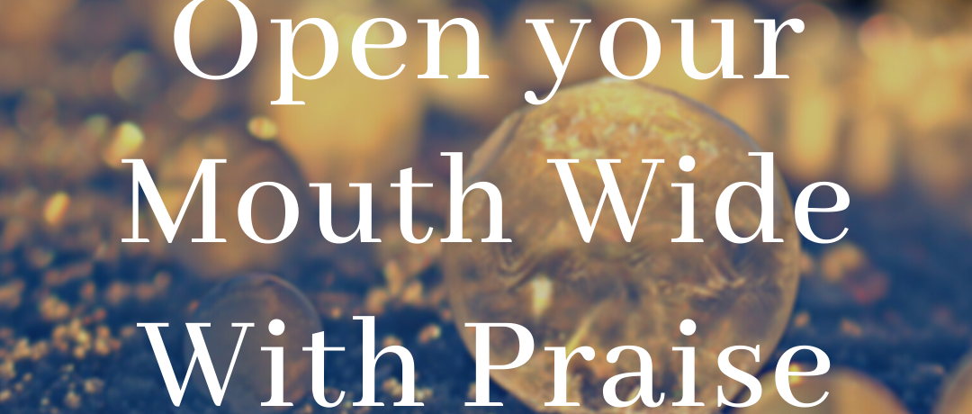 Open Your Mouth Wide With Praise